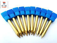 High Hardness Carbide Router Bits Precise Engraving ISO9001 Approved